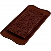 Molde silicona tableta chocolate Coffee