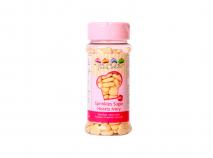 Sprinkles corazones de azucar 80g marfil