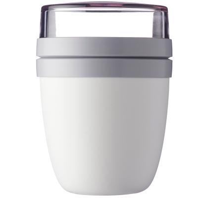 Fiambrera doble yogur