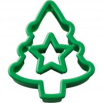 Cortador galletas navidad arbol estrella (dp)