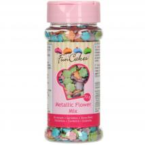 Sprinkles Confeti de flores metalizadas 70 g