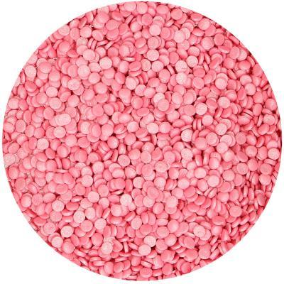 Funcake confeti rosa metálico 70 g