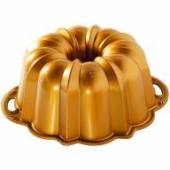 Motllo pastís Nordic Ware Aniversari gold Bundt
