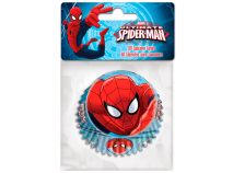Papel cupcakes x60 Spiderman