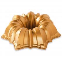 Motllo pastís Nordic Ware Solera Bundt gold