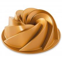 Molde pastel Nordic Heritage Bundt 6 cup gold