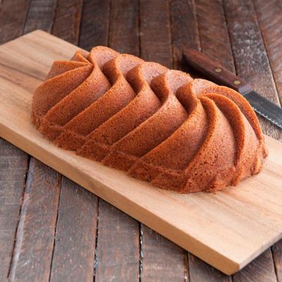 Molde pastel Nordic Heritage Loaf pan gold