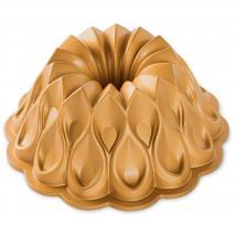 Motllo pastís Nordic Ware Crown Bundt gold