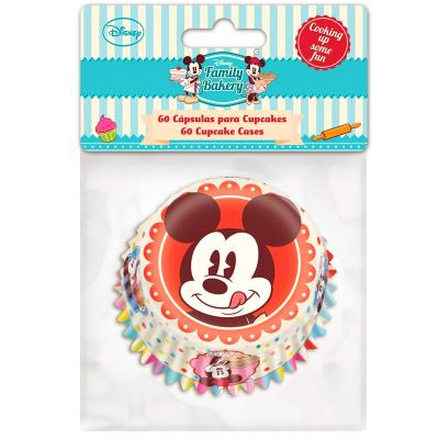 Papel cupcakes x60 Mickey
