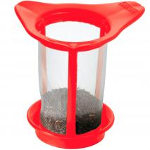 Filtre plàstic amb tapa plàstic vermella