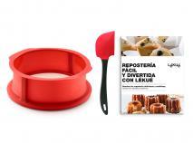Molde redondo silicona desmontable + Esp y Lib ESP