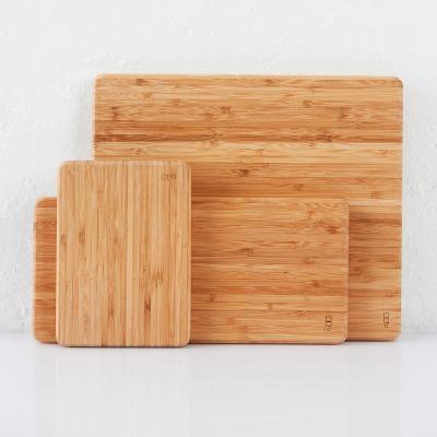 Tabla de cortar bambú rectangular