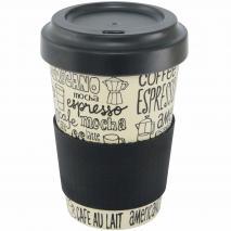 Tassa mug fibra bambú Coffee 500 ml