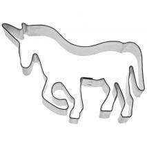 Cortador galletas unicornio 11 cm