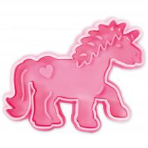 Cortador decorador unicornio 7 cm
