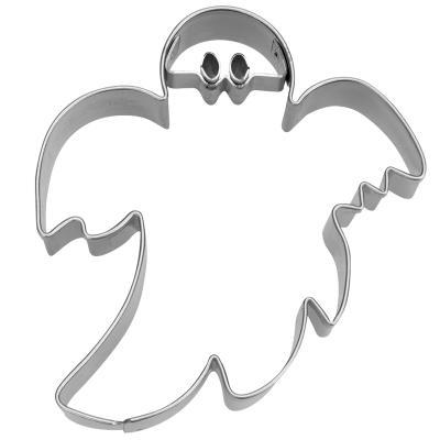 Cortador galletas fantasma con ojos 6,5 cm
