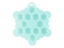 Molde silicona x12 cav Mini Copos de nieve