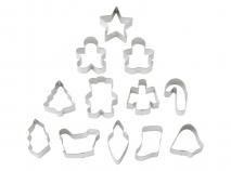Set 12 talladors galetes mini Nadal