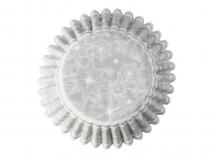 Papel mini cupcakes x100 Muñeco de nieve