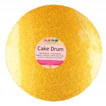 Base para pasteles redonda oro