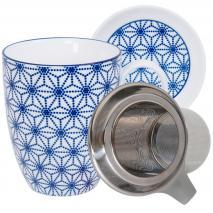 Set mug con filtro Nippon Blue estrella