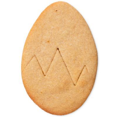 Cortador galletas huevo roto 10 cm