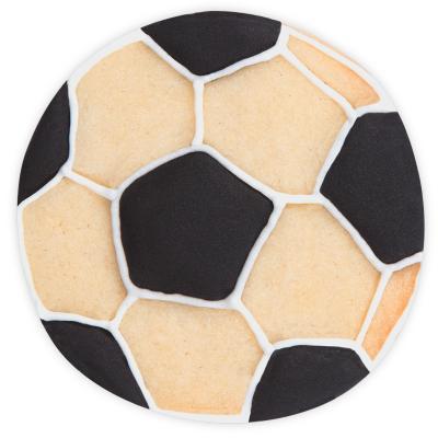 Cortador galletas Pelota fútbol 6 cm