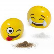 Set sal i pebre Emoji ceràmica