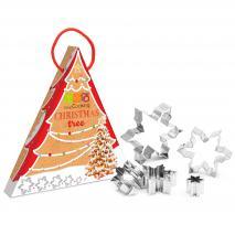 Set cortadores galletas Christmas tree