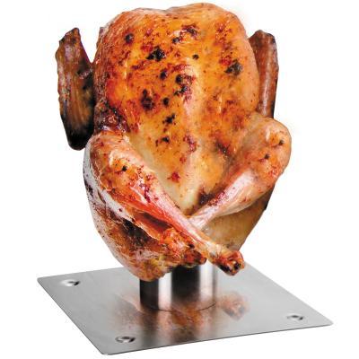 Asador para pollo horno con porta espècias