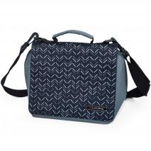 Carmanyola bossa My lunch bag espiga negre