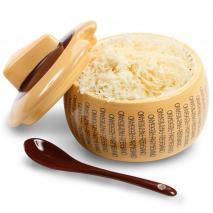 Quesera Parmigiano Reggiano con cucharita