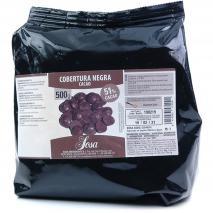Cobertura xocolata negre 51 % 500 gr