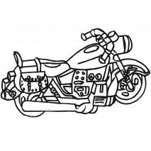 Molde Mona Pascua Chocolate Moto Harley