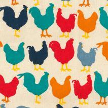 Drap de cuina 50x70 cm Studio poulet colors