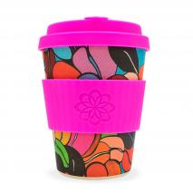 Taza bambú tapa Ecoffee Waterfall 340 ml Couleur