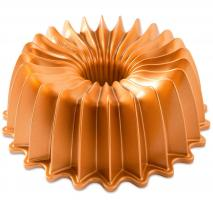 Molde pastel bundt Nordic Ware Brilliance gold