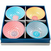 Set 4 bols Tayo 15 cm Wave colors assortits