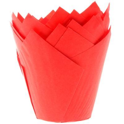 Papel cupcakes x36 Tulipa