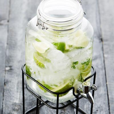 Jarra bebidas con grifo y soporte 3,6 L