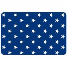Individual pp Estrella petita blau marí mini
