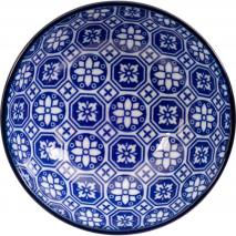 Cuenco para soja Nippon Blue cuadros