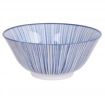 Bol japonés Tayo Nippon Blue línea 15 cm