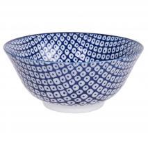 Bol japonés Tayo Nippon Blue raindrop 15 cm