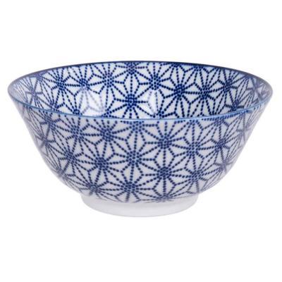 Bol japonés Tayo Nippon Blue estrella 15 cm