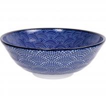 Bol soba japonès Nippon Blue dots 21 cm