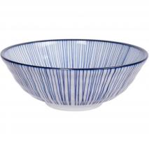 Bol soba japonès Nippon Blue linia 21 cm