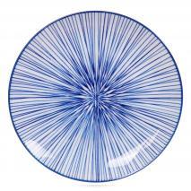 Plato Nippon Blue líneas 20,6 cm
