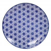 Plato Nippon Blue estrella 20,6 cm
