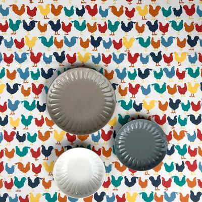 Mantel resinado Studio Poulet color